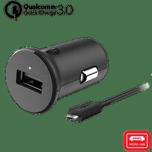 Caricabatteria da auto Motorola TurboPower ™ 18 con cavo dati micro USB